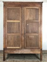 Large Pale Oak Armoire Wardrobe – Knock Down Flat Pack (17 of 17)