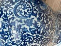 Beautiful Pair Small Chinese  Qing Style Porcelain Peony Vases (11 of 33)