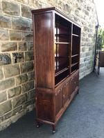 Antique Mahogany Library Bookcase (2 of 13)