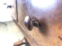 Victorian Mahogany Two Drawer Side Table (17 of 17)