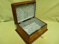 Large Inlaid Rosewood Jewellery / Table Box c.1835 (4 of 12)