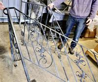 Unused Space Saver Iron Spiral Staircase with Hand Rails (2 of 12)
