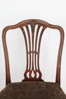 Pair of Antique Georgian Mahogany Side Chairs (6 of 13)