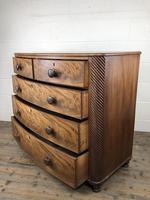19th Century Mahogany Bow Front Chest of Drawers (7 of 12)