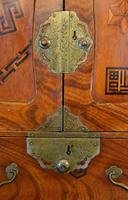 Excellent 19th Century Japanese Elm Jewellery Box/ Table Cabinet. (6 of 15)