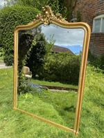 Large French Rococo Gilt Mirror (5 of 5)