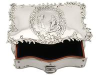 Sterling Silver Jewellery Box - Antique Edwardian (1902) (11 of 15)