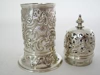Decorative Victorian Lighthouse Shaped Silver Sugar Caster (4 of 5)