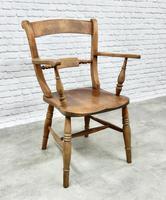 19th Century Windsor Bar-back Armchair (2 of 6)