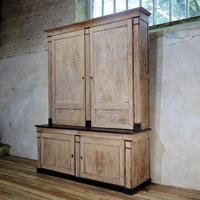 A Large 19th Century French Original Painted Cupboard