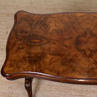 Walnut Writing Table Desk 19th Century Victorian (3 of 9)