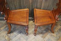 Pair of Fine Quality Regency Hall Chairs (4 of 7)