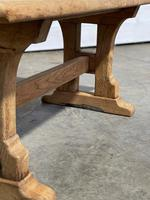 Great Rustic French Bleached Oak Coffee Table (17 of 25)