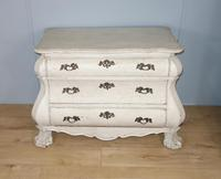 Bombé White Painted Chest of Drawers (2 of 9)