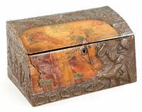 Antique Russian Wood Box with Basma Abramtsevo - Very Large (13 of 13)