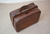 Edwardian Leather Travel Case by H.Greaves New Street Birmingham (4 of 10)