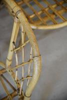 Single Bamboo Cane Tub Chair. (3 of 12)