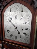 Mid 19th Century Musical Gothic Bracket Clock (7 of 9)