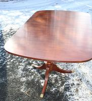1960s Mahogany Dend Dining Table with 4 Leaves (2 of 4)