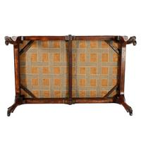 Large Victorian Rosewood Centre Stool (5 of 9)