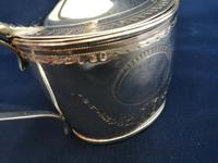 Georgian Silver Oval Mustard Pot (2 of 9)