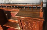 Edwardian Inlaid Rosewood Desk (19 of 23)