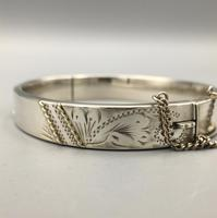 Vintage Silver Bangle London 1984 (2 of 9)