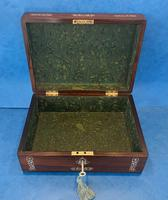 William IV Mother Pearl Inlaid Rosewood Box (12 of 12)