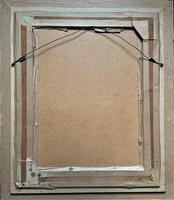 Large Elegant 20th Century Vintage Antique Embroidery Wall Hanging in Gilt Frame (12 of 12)