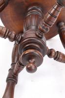 Antique Victorian Revolving Adjustable Piano Stool (13 of 13)