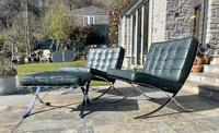 Pair of Barcelona Chairs & Ottoman (14 of 30)