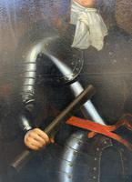 Huge Oil Portrait Painting of 17th Century General John Richmond Webb (9 of 16)