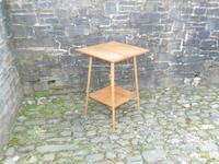 Arts & Crafts Golden Oak Table (10 of 12)