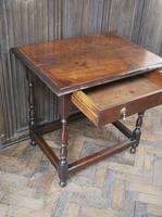 Early Oak Country  Side Table (5 of 6)