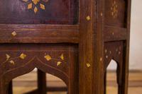 Late 19th Century Indian Hoshiarpur Occasional Octagonal Table (9 of 15)