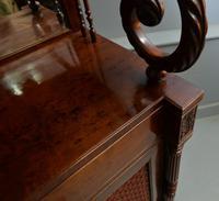 Fine Regency Mahogany Chiffonier Side Cabinet (13 of 18)