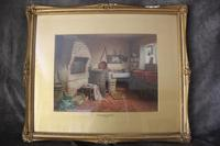 Antique Original Watercolour - A Devonshire Cottage - Henry Tozer 1864-1938 (2 of 11)