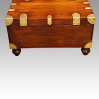 Victorian Mahogany Military Chest (10 of 14)