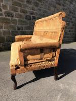 Antique English Upholstered Sofa for Recovering (3 of 7)