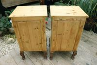 Beautiful & Unusual Old Pine Bedside Cabinets / Cupboards - We Deliver! (10 of 10)
