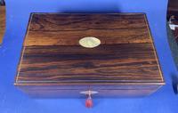 William IV Pewter Inlaid Rosewood Box (16 of 18)