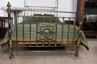 Spectacular Victorian All Brass Half Tester (2 of 16)