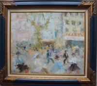 Jacques Bartoli Toulon French Post Impressionist Oil Painting