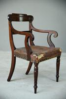 William IV Mahogany Carver Chair