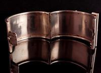 Victorian Silver Cuff Bangle, Wide, Buckle (10 of 11)