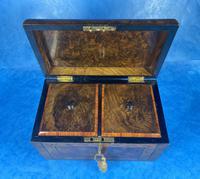 Victorian Tunbridge Ware Twin Section Tea Caddy (16 of 18)