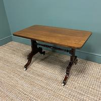 Mahogany Victorian Antique Coffee Table (3 of 5)