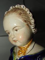 Edwardian Porcelain Bust Young Lady (6 of 6)