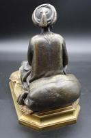Well Modelled Late 19th Century Bronze of a Snake Charmer (3 of 5)