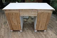 Fabulous! Old Pine / White Painted Desk / Dressing Table - We deliver! (11 of 11)